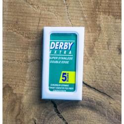 Derby scheermesjes 5 stuks