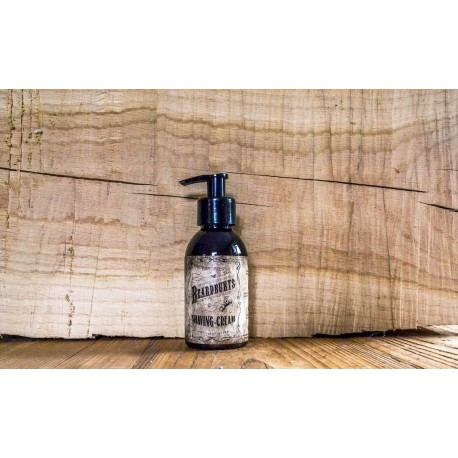 Beardburys Scheercrème in pompflacon 150ml