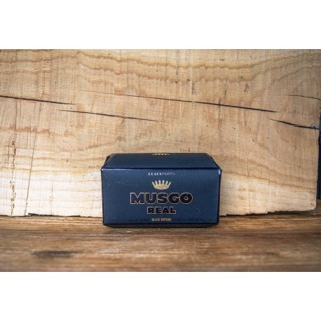 Musgo real - Black edition soap on a rope 190 gram
