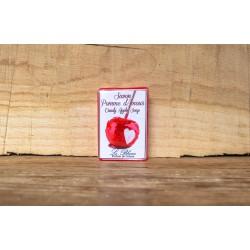 Zeep van Le Blanc in wikkel Pommes d'Amour (100gr)